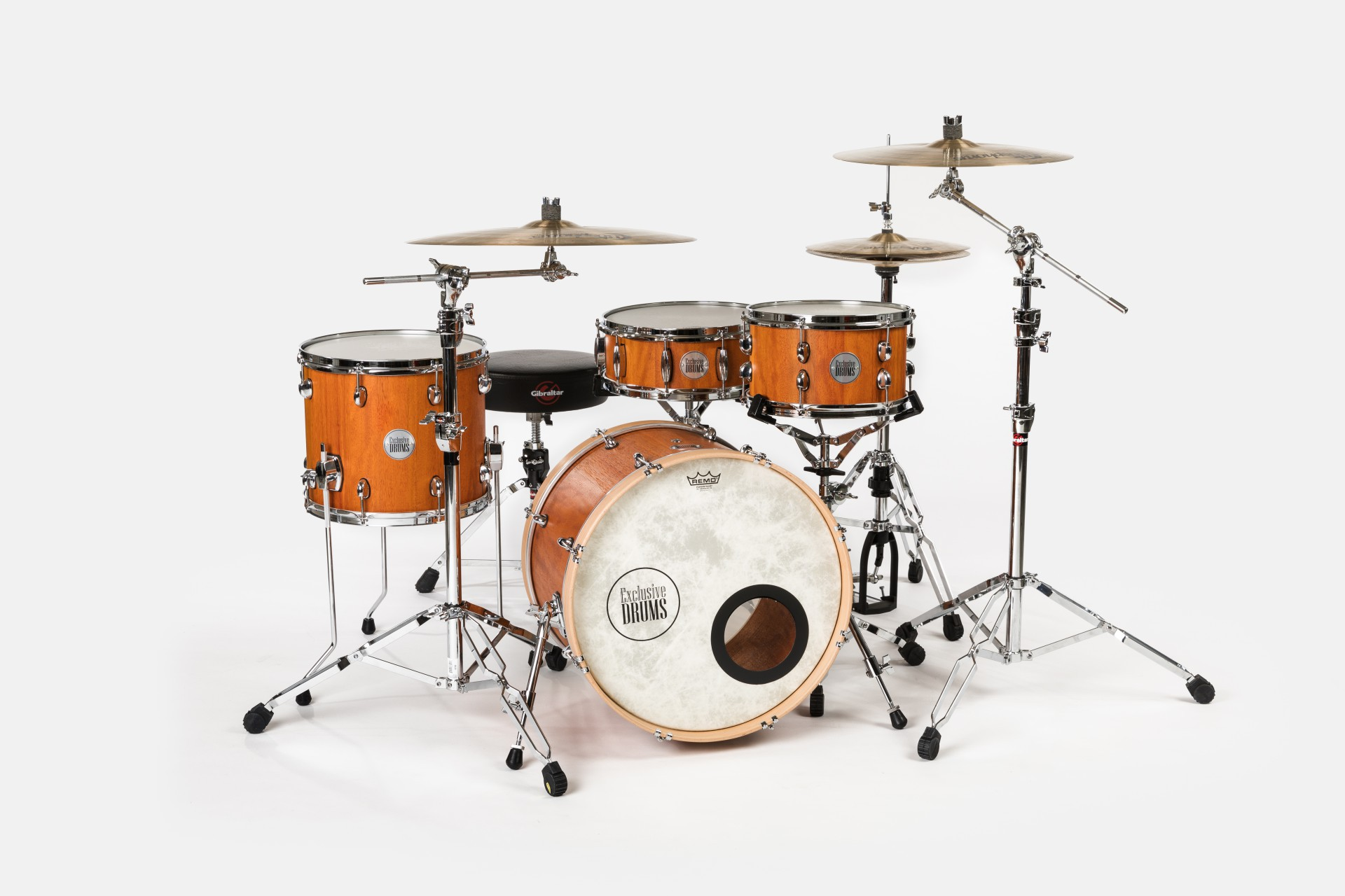 Afzelia Drum Set